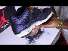 bc9ff824d25d (9) HOW TO CUSTOMIZE SHOES WITH GLITTER CORRECTLY DIY - YouTube Custom  Clothes