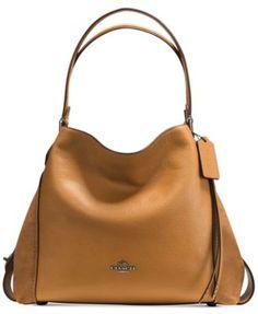COACH Coach Edie Shoulder Bag 31 In Mixed Leathers.  coach  bags  shoulder 81c4d66704add