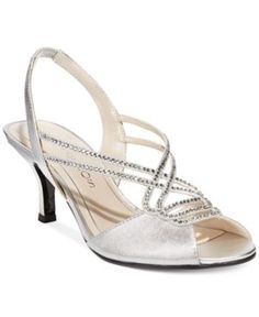 Caparros Philomena Evening Sandals - Silver 6.5M