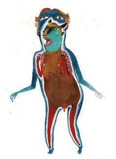 Monster by Max Grünfeld, via Behance