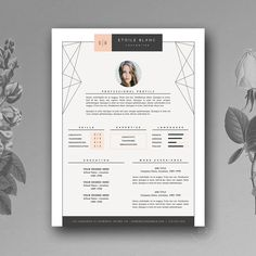 76 Best ✏ Professional Resume Templates images in 2019   Resume ...