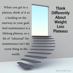 Think Differently About Weight Loss Plateaus