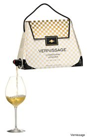 Boxed wine handbag. Glorious.