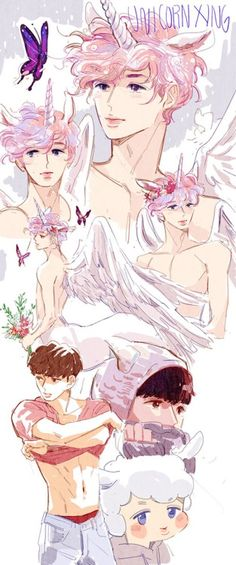 Exo Lay Fanart | credit to owner