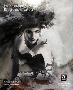 Ilustración de Aracne. Personaje del libro El tigre de la canela. Libro más original de acción, aventura y fantasía.