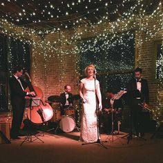 One more from last night!  @fleurseule killing it under our starry night installation ✨✨| #fireflyevent #weddings #gotsparrowed