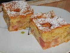 Rebarbarás kevert sütemény recept