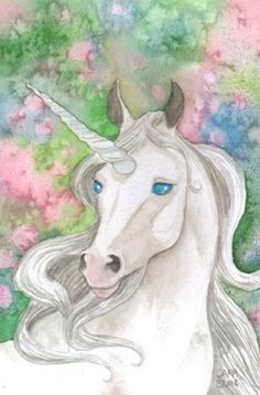Sketchbook: Watercolor Unicorn: 120 Pages of inch X inch Blank Paper for Drawing, Doodling or Sketching (Sketchbooks) (Paperback) Unicorn And Glitter, Real Unicorn, Unicorn Horse, Unicorn Art, Magical Unicorn, Rainbow Unicorn, Unicorn And Fairies, Unicorn Fantasy, Unicorns And Mermaids