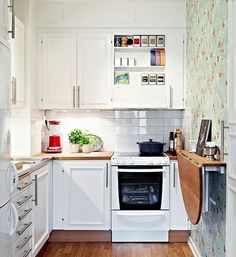 CóMO DECORAR UNA COCINA PEQUEñA - Blogs de Línea 3 Cocinas, Diseño de cocinas , reforma de cocinas , decoración de cocinas
