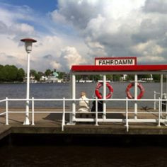 River Alster in Hamburg
