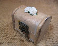 Rustic Wedding Card Box Rustic Wedding white by goodbuyNoraJean