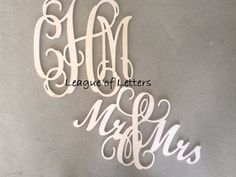 Wedding Home Decor SALE: 24 inch Wooden by LeagueofLetters on Etsy