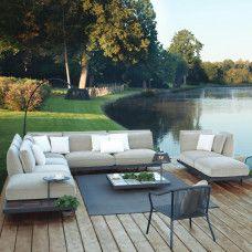 Kissenset Kategorie B Outdoor Sofa Cushions, Outdoor Lounge, Outdoor Decor, Outdoor Living Furniture, Pallet Garden Furniture, Royal Botania, Villa, Aluminium, Backyard