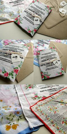 Vintage Handkerchiefs via Dear So and So