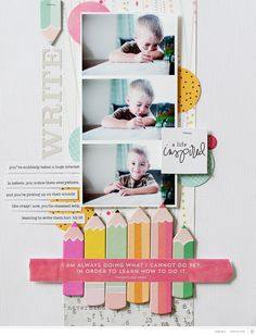 Using the Roman Holiday Scrapbook Kit with Kelly Noel