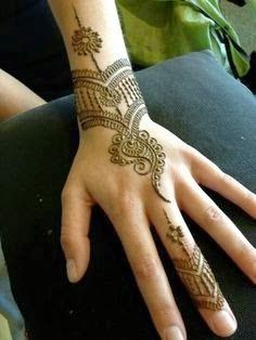 Simple Indian Mehndi Designs For Hands - Wow