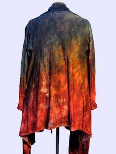 WandaWorks - Beautiful Wandawear jacket, hand sewn and dyed by Wanda