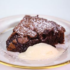 the chew | Recipe | Clinton Kelly's Flourless Chocolate Cake I made this. Very good!