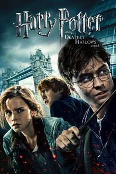 """Harry Potter and the Deathly Hallows - Part 1 - A lot of chasing in this movie. It's like """"catch me if you can"""" version of Harry Potter.  3.5/5."""