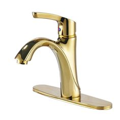 Gold Crystal Glass Handle Bathroom Lavatory Basin Vessel Sink Faucet Split Mixer Tap Hot And