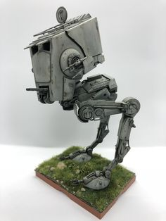 Maquette Star Wars, Imperial Walker, Battle Robots, Star Wars Models, Star Wars Ships, Gundam, Starwars, Ph, Empire