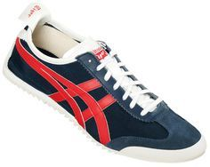 Onitsuka Tiger Mexico 66 DX Blue Red Nylon Trainer