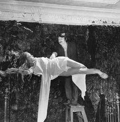 Tarkovsky on the set of The Mirror