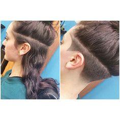 Pin on Undercut hair designs Pin on Undercut hair designs Undercut Hairstyles Women, Short Hair Undercut, Pretty Hairstyles, Short Hair Cuts, Haircuts, Undercut Women, Undercut Natural Hair, Undercut Hair Designs, Shaved Hair Designs