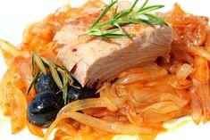 Falsarius Chef - Blog de cocina fácil y recetas para el día a día: ATÚN ENCEBOLLADO