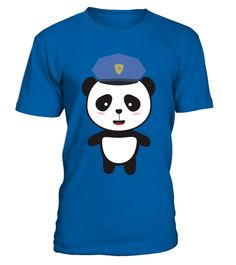 # Panda Police Officer T Shirt .  HOW TO ORDER:1. Select the style and color you want: 2. Click Reserve it now3. Select size and quantity4. Enter shipping and billing information5. Done! Simple as that!TIPS: Buy 2 or more to save shipping cost!This is printable if you purchase only one piece. so dont worry, you will get yours.Guaranteed safe and secure checkout via:Paypal   VISA   MASTERCARD
