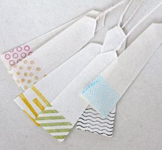 Paper bookmarks from Spiral Market in Aoyama by upon a fold