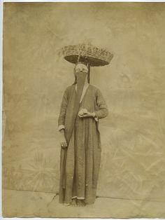 Arab Woman, Egypt, 1870's