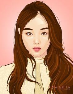 Kim bok joo Bok Joo, Graphic Design Illustration, Photoshop, Gallery, Disney Characters, Creative, Anime, Art, Art Background