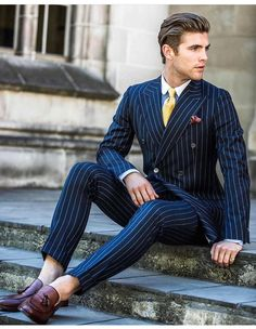 Pinstripes...