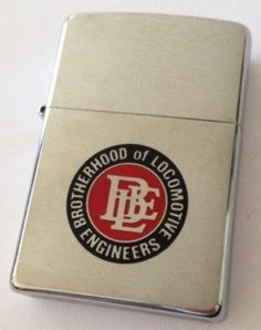 Brotherhood of Locomotive Engineers - Abelardo's Military Zippo Collection