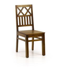 Cette chaise Spar est fabriquée en bois exotique d'Indonésie : le Mindy massif. A la fois robuste et design, elle a été cirée pour un fini de qualité. Ce meuble fait partie de différentes ambiances telles que Campagne, Exotique, Chic et Contemporain. Son poids est de 7kg. Dans votre cuisine ou salle à manger cette chaise saura agrémenter votre intérieur.   On dirait le sud reste à votre disposition pour vous conseiller.
