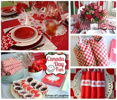 Canada Day Party Ideas