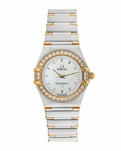 "Omega Women's 2011 ""Constellation"" Diamond Watch"