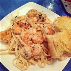 Absolutely The Best Shrimp Scampi via AllRecipes