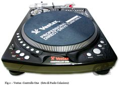 Vestax Controller One turntable