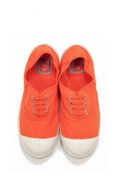 Tennis Bensimon in orange #virtualsuitcase
