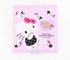 Hello Kitty Washcloth: Pose