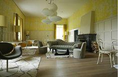 Designed by Ilse Crawford, the Das Kranzbach spa hotel in the Bavarian Alps via Remodelista