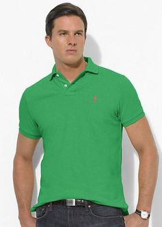 ralph lauren outlet uk Ralph Lauren Men\u0027s Classic-Fit Mesh Short Sleeve Polo  Shirt Tiller