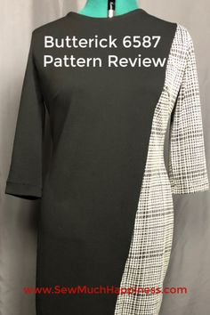 Click on image for pattern review.  patternreview  b6587  buttrerick6587   ButterickPatternReview  dresspattern  sewdress  sewingproject  sewing   ... bd544379d3b27