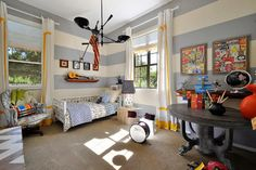 Fun room!  Teen Boys Room Design, Pictures, Remodel, Decor and Ideas - page 96