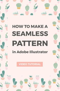How to create a seamless pattern in Illustrator ~ Elan Creative Co.