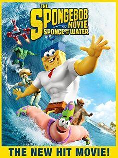 HD $14.99 The SpongeBob Movie: Sponge Out of Water PG 2015 ‧ Adventure/Comedy ‧ 1h 33m #shop #children #kids #family #movie