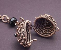 Coiled Locket