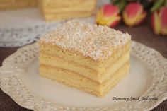 aniołek – komunijne ciasto z kremem waniliowym